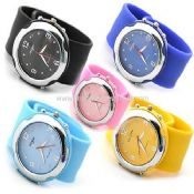 Silicone slap watch images
