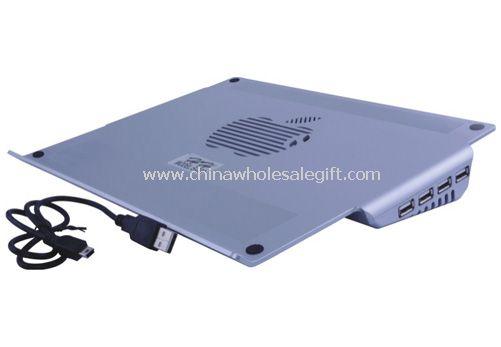 notebook, chladící podložka s USB Hub
