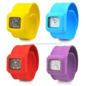 Kids silicone slap watch images
