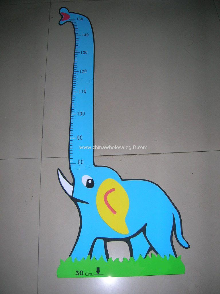 Kids elephant growth chart