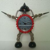 Gear big robot clock images