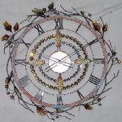 Metal Wall Clock images