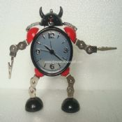 Round robot clock images