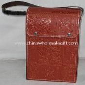 Leather wine box with Lanyard images