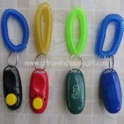 i Click dog training clicker with wrist strap images
