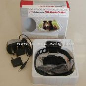 rechargeable adjustable sensitivity STOP dog barking collar images