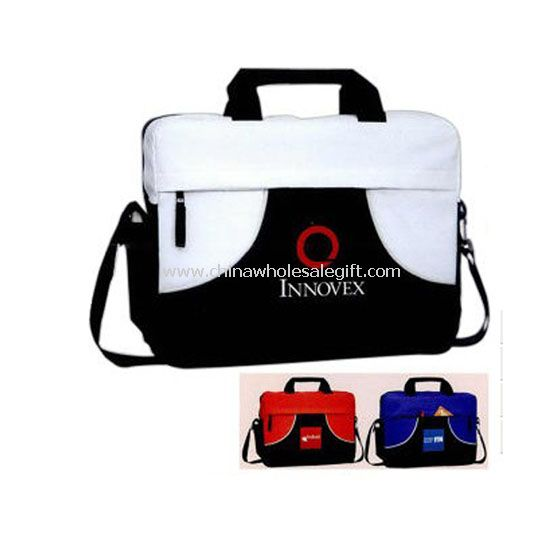 Zippered Main Compartment Briefcase Bag