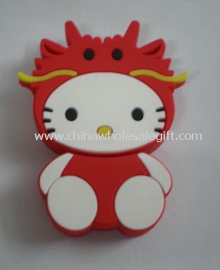 Cartoon silicone USB Flash Drive