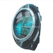 Solar sports watch with Stopwatch images