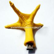 Chicken feet usb disk images