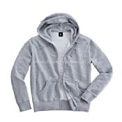 Mens Full Zipped and Hooded Sweatshirt images