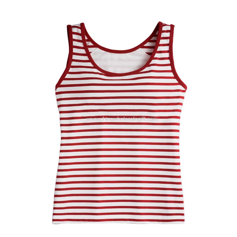 Womens Promotional Cotton and Spandex Tank Top