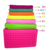 Multifunctional ladies bags silicone zipper purse images