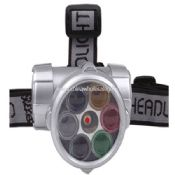 Head Lamp with laser images
