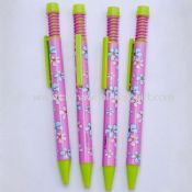 Printed picture pen images
