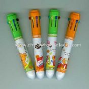 Cartoon multi-color pen images