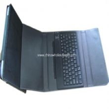 Bluetooth Keyboard with Leather Case for Ipad 2 images