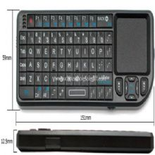 Mini Bluetooth Keyboard with Touchpad images