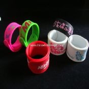 Silicone Slap Wristband images