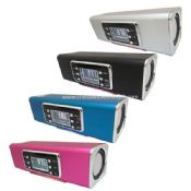 Portable speaker with TF/USB/LINE/MP3/WMA Dual decoder/FM/Screen images