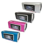 Portable speaker with TF/USB/LINEMP3/WMA Dual decoder/FM/Screen images