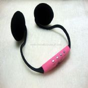 Portable earphone with TF/FM images