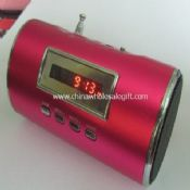 Alloy Mini card Speaker with FM radio images