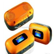 Plastic Mini Speaker With automatic FM function images