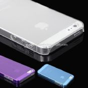 Ultra Thin Crystal Clear Snap On Hard Case For iPhone5 images