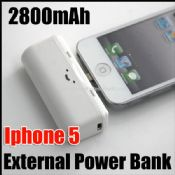 2800mAh External Battery Power Bank For iphone5 images