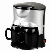 Two cups coffeemaker images