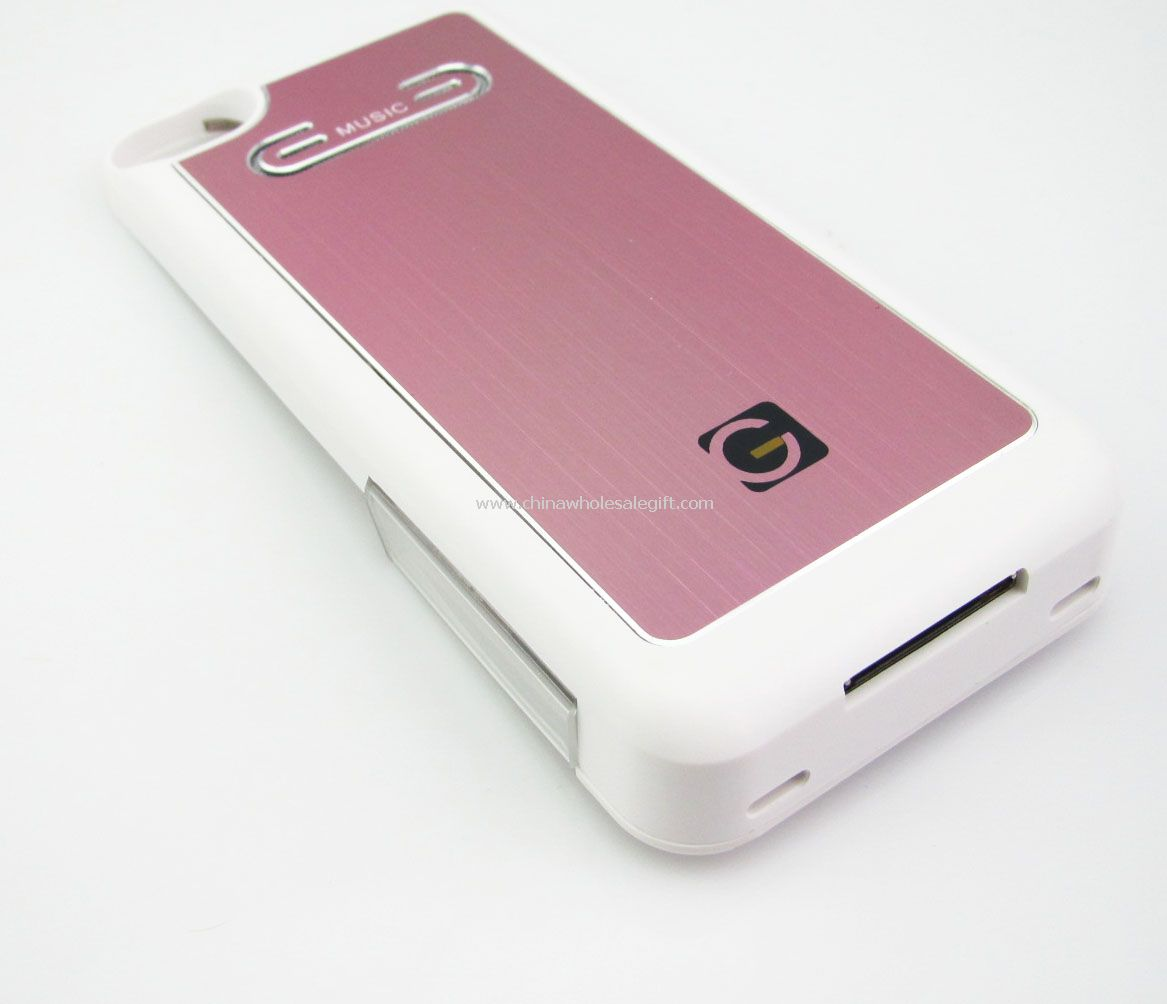 battery speaker 1600mah for iphone 4 4s iphone 4 case. Black Bedroom Furniture Sets. Home Design Ideas