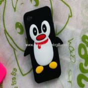 10 Bundle kit Soft Silicone PENGUIN Skin Case Cove for iPhone 4 images