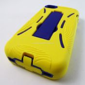 Heavy Duty Hard Soft Case Combo Apple iPhone 4 4s images