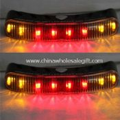 8 leds Wireless helmet led brake and turn light images