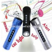 Multi-function bike Music flashlight images