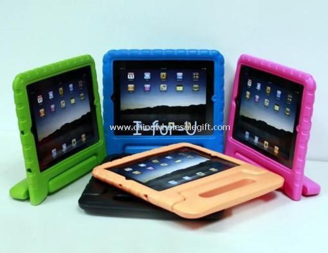 Los niños Durable espuma caso manejar soporte para niños nuevo iPad 4 3 2 Mini