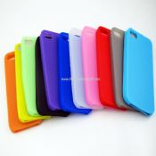 DELUXE SILICONE SKIN COVER CASE FOR IPHONE 5 images