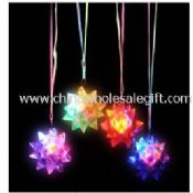 Flashing flower necklace images