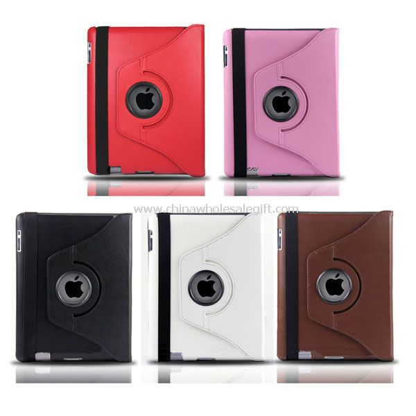 360 rotating case with stand for ipad 2/3