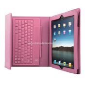 iPad 3 4 2 Stand Leather Case Cover With Wireless Bluetooth Keyboard images
