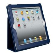 simple leather stand case for apple ipad2/3 images