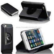 iPhone5 360 rotating smart leather stand flip case images