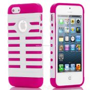 iPhone5 Hybrid High impact Combo Hard Silicone Rubber Case images