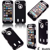 iPhone5 Rugged Rubber Hybrid High Impact Hard Case images
