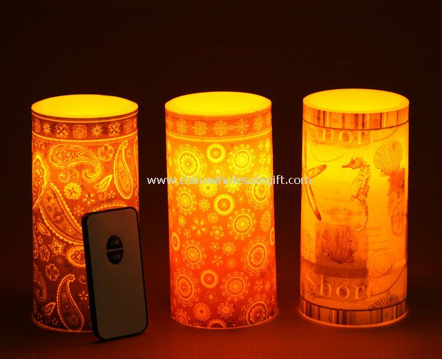 Flameless Remote-Control Candle