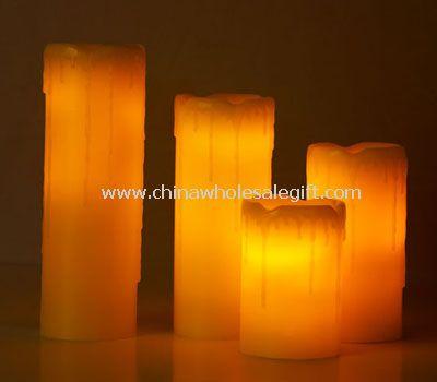 Led wax flameless Candle