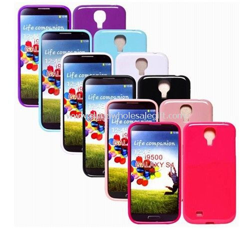 Colorful Hard Plastic TPU Case Skin Cover for Samsung GALAXY S4 i9500