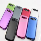 Aluminum Metal Hard Rear Shield Rubber Case Samsung Galaxy S3 i9300 images