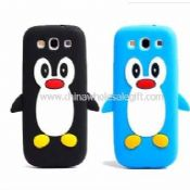Penguin Silicone Soft Back Case For Samsung Galaxy S3 i9300 images